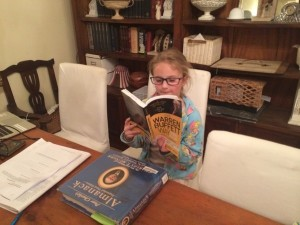 Jolee Reading Buffett Books